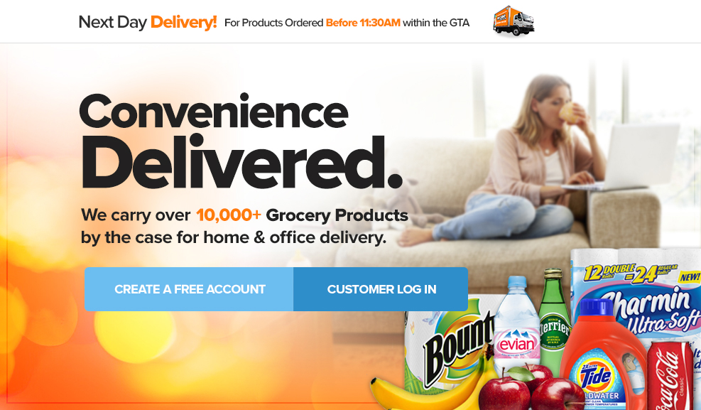 Home & Office Grocery Delivery Toronto